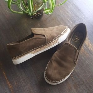 Vince Camuto Suede Tambia Sneakers Slip-ons